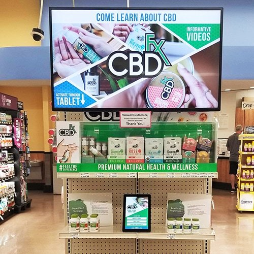 CBD Digital Signage Family Fare
